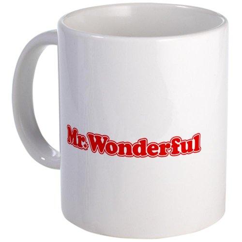Mr. Wonderful Mug Mug By Cafepress