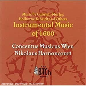 Instrumental Works of 1600 from Vanguard Classics