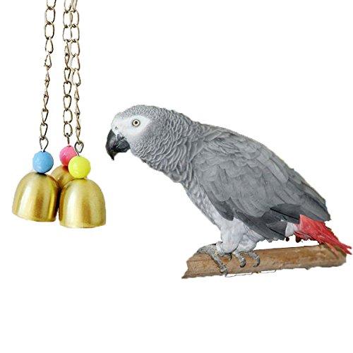 Bird-Chew-Toy-Bells-Parrot-Macaw-African-Greys-Cockatoo-Budgies-Parakeet-Cockatiels-Conure-Lovebird-Birdcage-Toy