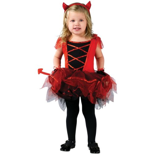 Devilina Toddler Costume front-1005735