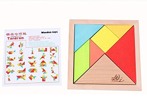 Geometry Tangram Puzzle
