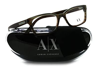 Armani Exchange AX232 Eyeglasses-0D9K Azure Brown-50mm