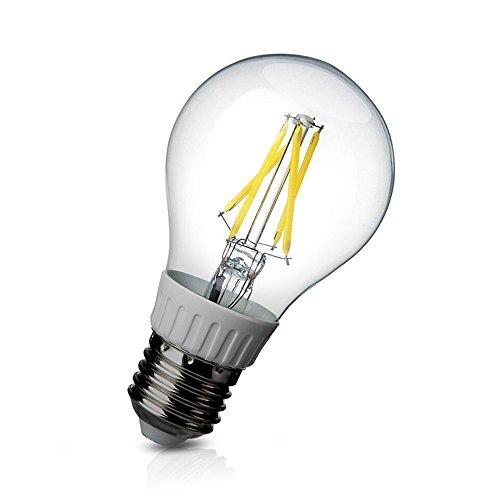 E27 4W Cob Led Filament Globe Bulb Light Lamp Replace White 40W Incandescent