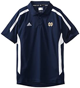 NCAA Notre Dame Fighting Irish Sideline Polo by adidas