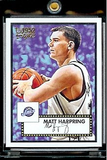 2005 06 Topps Style '52 Matt Harpring Utah Jazz Basketball Card #64 - Mint Condition - In Protective Display Case !! - Buy 2005 06 Topps Style '52 Matt Harpring Utah Jazz Basketball Card #64 - Mint Condition - In Protective Display Case !! - Purchase 2005 06 Topps Style '52 Matt Harpring Utah Jazz Basketball Card #64 - Mint Condition - In Protective Display Case !! (Upper Deck, Toys & Games,Categories,Games,Card Games,Collectible Trading Card Games)