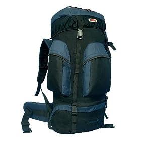 NEW CUSCUS 6200ci Internal Frame Hiking Camp Travel Backpack -Navy