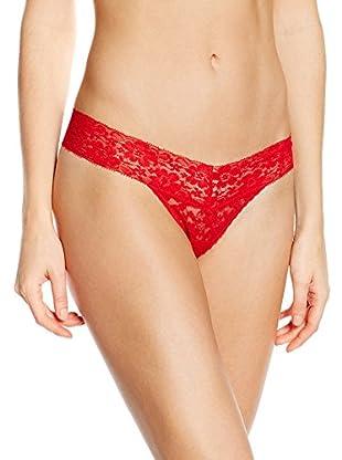 Triumph Tanga Brief Lace String (Rojo)