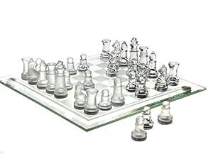 Chess Game Set Fine Glass( 8 x 8)