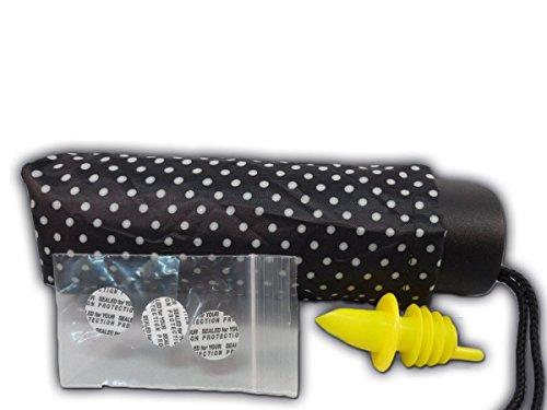 Umbrella 9 oz Flask w/ Lid Seals & Speed Pourer