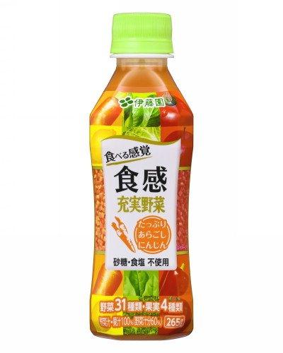 伊藤園 食べる感覚 食感充実野菜 265g×24本