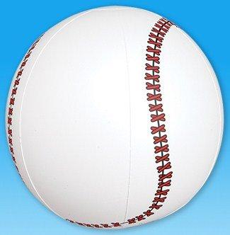 """1 Dozen Fun Inflatable Baseballs (9"""") Party / Favor / Decor / Beach - 1"""