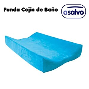 Funda Cojín de Baño Turquesa de asalvo
