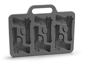 Fred & Friends Freeze Handgun-Shaped Ice-Cube Tray