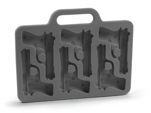 Freeze! Handgun-Shaped Ice-Cube Tray