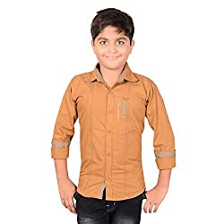 AEDI Little Casual Cotton shirts for Boys (6-7 Years)