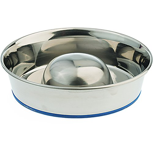 OurPets Premium DuraPet Slow Feed Dog Bowl Medium (Slow Down Food Bowl compare prices)