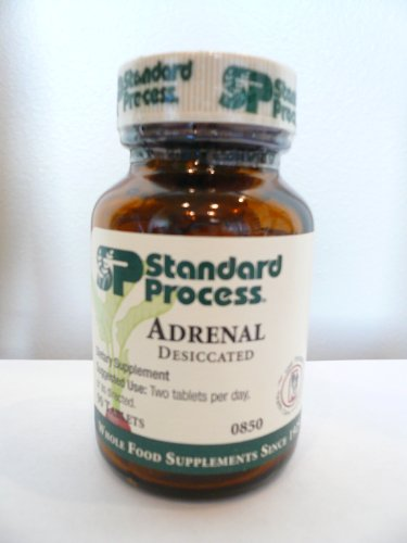adrenal desiccated 90 tablets by standard process