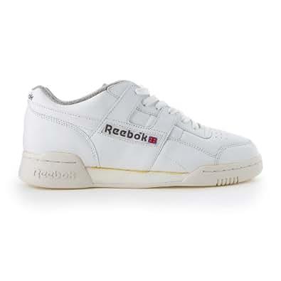 Amazon.com: Reebok Workout Plus Vintage White, White Uk Size: 12
