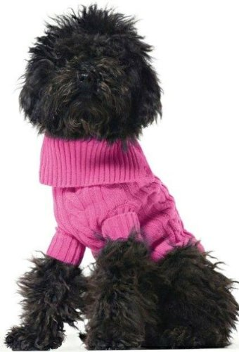 United Colors of Benetton Pink Wool Dog Sweater