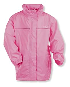 Gelert Girls Rainpod Jacket - Cassis, Size 3/4