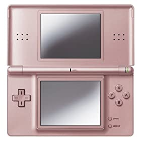 Nintendo DS Metallic Rose in full view
