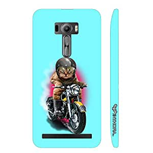 Asus ZenFone Selfie Cat Coolio designer mobile hard shell case by Enthopia