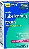 Sunmark Sterile Lubricating Tears Eye Drops- 0.5 oz