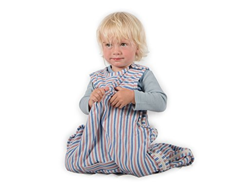 Merino Kids Organic Cotton Baby Sleep Bag For Babies 0-2 Years, Juniper