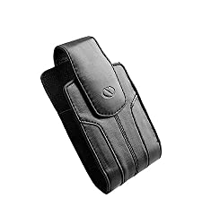 Naztech Kaskade Case - PDA and Smart Phones - iPhone Blackberry HTC Samsung LG Motorola and Nokia - Black