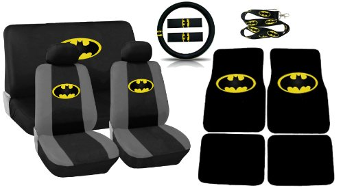 Magnificent Buy 11Pc Classic Batman Logo Low Back Seat Covers Bench Seat Dailytribune Chair Design For Home Dailytribuneorg