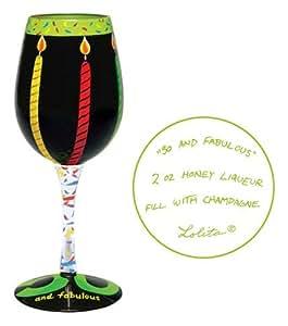 Lolita 50 And Fabulous Wine Glass Wine Glasses