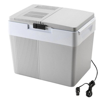 Kargo Cooler Thermoelectric - Massive 42 Can Capacity Plugs Into Lighter Socket