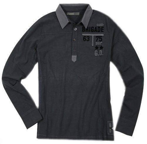 Gaudi -  Polo  - Maniche lunghe  - Uomo grigio scuro 50/52