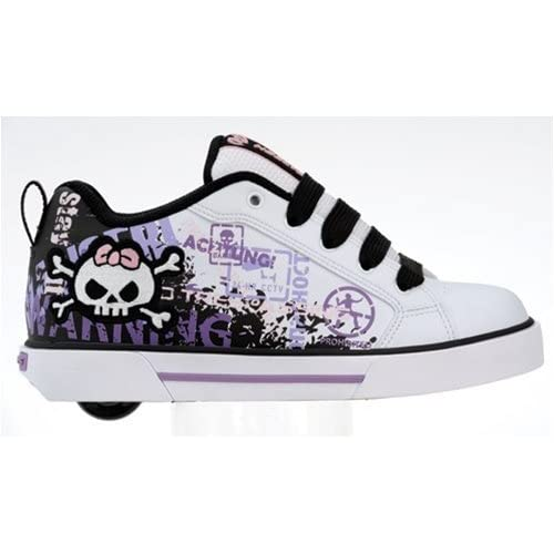 Amazon.com: Heelys Sheer 7470 White/Purple/Black heelys shoes