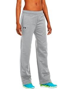 Under Armour Women's Armour® Fleece Team Pants Large True Gray Heather
