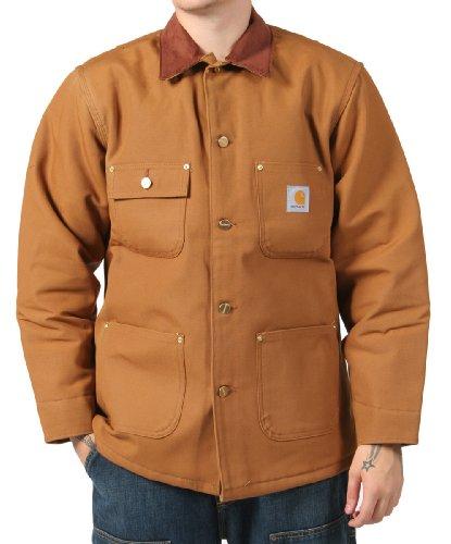 Carhartt Chore Coat -Mens winter work Jacket - Brown