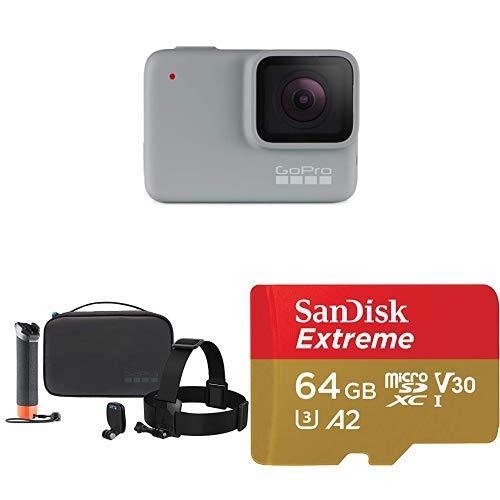 GoPro HERO7 White + Adventure Kit + (1) microSD Card