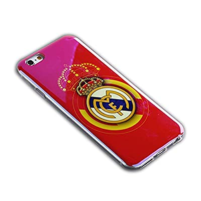 iPhone 6 Case, YDYBZB Soft TPU Real Madrid Case Cover Skin for iPhone 6 (4.7 inch)