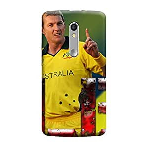 Ebby Premium Printed Mobile Back Case Cover With Full protection For Moto X Force (Designer Case)