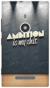 The Racoon Grip ambition hard plastic printed back case for Nokia Lumia 925