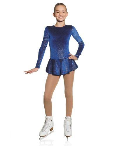 Ice Skating Dress Glitter Velvet - Girls Sizes