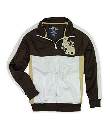 Ecko Unltd. Mens Marc Ecko Colorblock Track Jacket Outerwear
