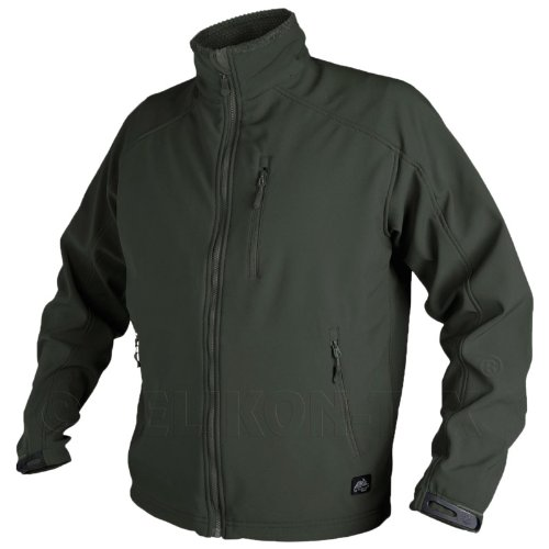 Helikon Combat Delta Mens Jacket Fleece Windbreaker Airsoft Hiking Jungle Green