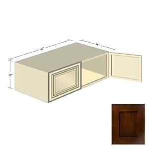 amazon com espresso shaker kitchen cabinets w 361224