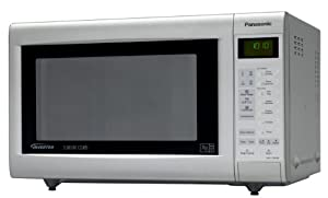 Panasonic NN-CT562MBPQ Combination Microwave Oven, Silver/Grey