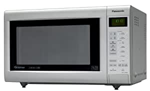 Panasonic NN-CT562MBPQ Combination Microwave Oven, Silver/Grey