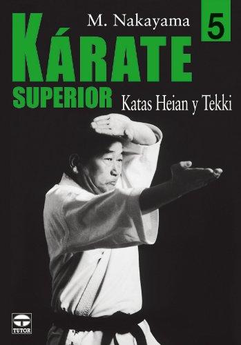 KARATE SUPERIOR 5 KATAS HEIAN Y TEKKI