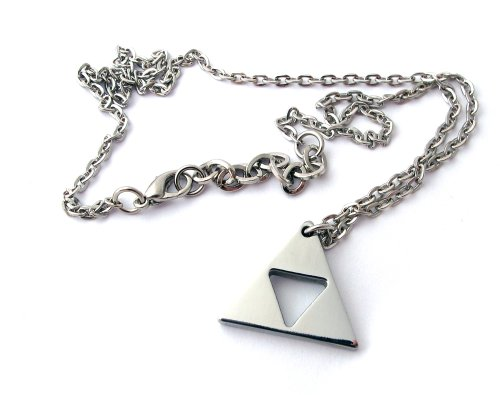 Zelda Triforce Necklace - Stainless Steel