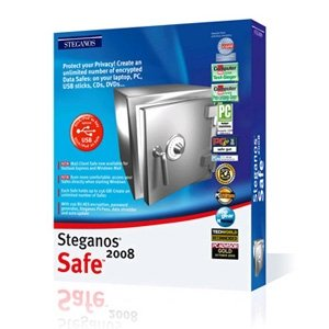 Steganos Safe 2008 - Encryption 256 Bit AES