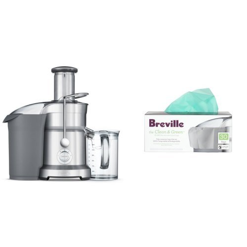 Breville BJE820XL Dual Disc Juicer and Biodegradable Pulp Bin Liners (Breville Bje820xl Juice compare prices)